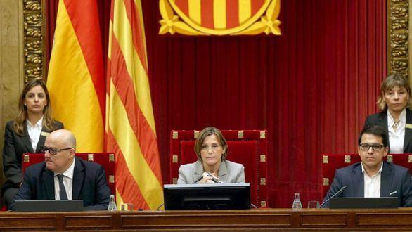 Los separatistas, atenazados por el 155 en el Parlament