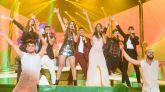 Actuación grupal de Miriam, Agoney, Amaia, Alfred, Ana Guerra, Roi y Aitana