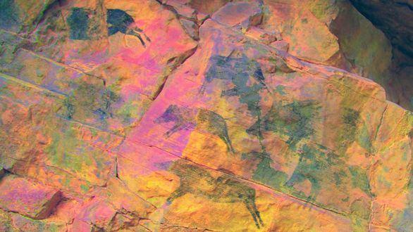 Hallados dos yacimientos de arte rupestre levantino de 7.000 años de antigüedad