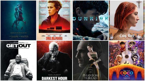 La forma del agua, de Guillermo del Toro, favorita para los Premios Óscar