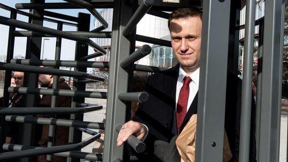 Detenido el líder opositor ruso Navalni en el centro de Moscú