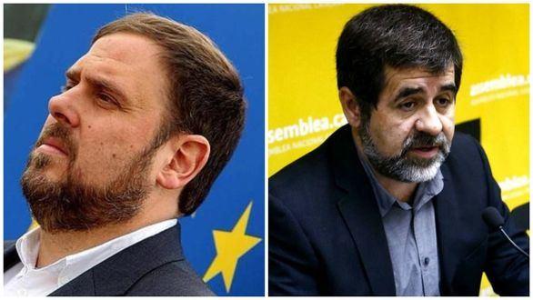 Oriol Junqueras y Jordi Sánchez no podrán asistir a la sesión de investidura