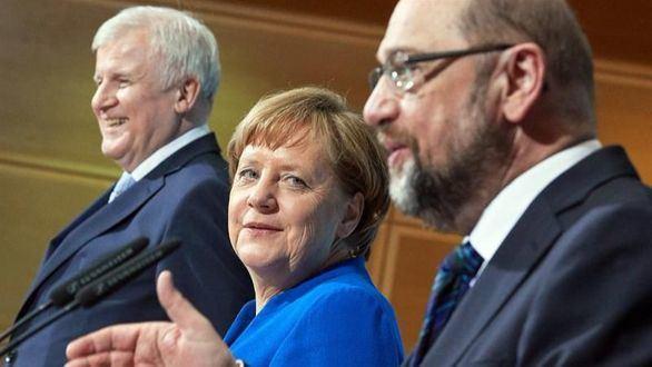 Merkel y Schulz alcanzan un acuerdo de gobierno