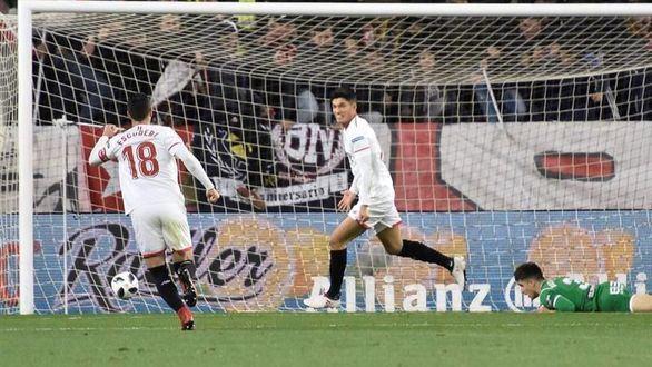 Copa del Rey. El Sevilla, primer confirmado en la final del Wanda Metropolitano |2-0