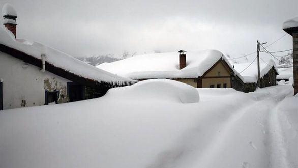 Temperaturas de hasta 10 grados bajo cero en la mitad norte peninsular