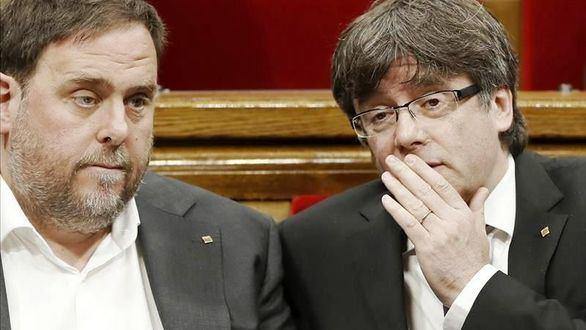 JxCat y ERC discuten por los despachos del Parlament