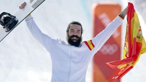 El español Regino Hernández, medalla de bronce en snowboard
