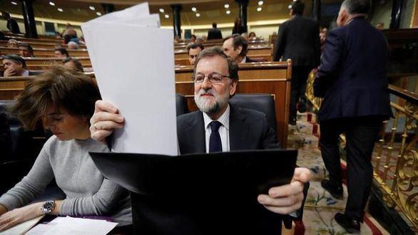 El jefe del Ejecutivo, Mariano Rajoy.