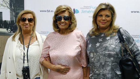 María Teresa Campos evoluciona bien tras una cirugía abdominal