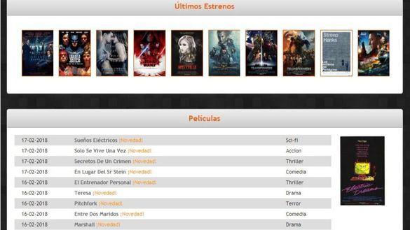 Bloqueadas 23 páginas web de descarga de películas, series y videojuegos
