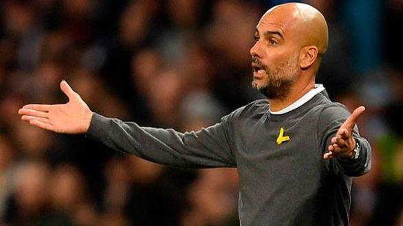La Federación Inglesa expedienta a Guardiola por lucir un lazo amarillo