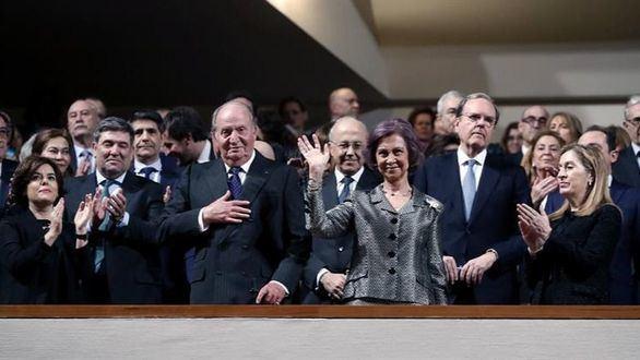 Don Juan Carlos y Doña Sofía homenajean a las víctimas del terrorismo