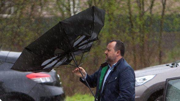 Toda España se prepara para el viento y la lluvia de la borrasca Gisele