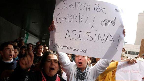 La asesina confesa de Gabriel ya está en la cárcel