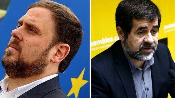 El TS prohíbe a Junqueras y Sànchez asistir al Parlament