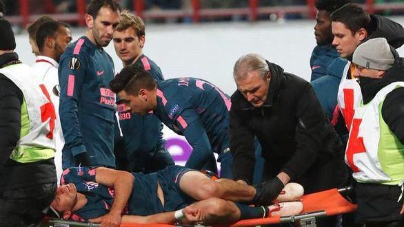 Filipe Luis se pierde el resto de temporada por una fractura de peroné