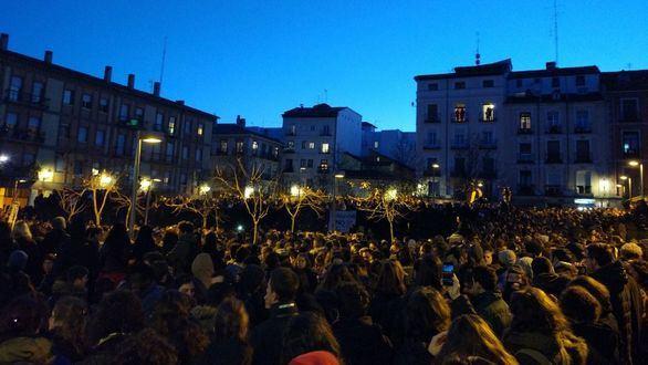 Fracasa la manifestación convocada por Podemos en Lavapiés