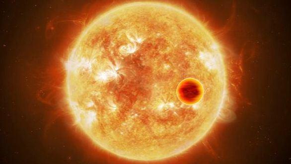 Exoplaneta caliente