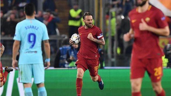 Hecatombe del Barcelona en Roma   3-0