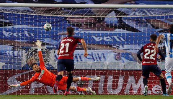 Osasuna corta la racha de la Real en casa |1-1