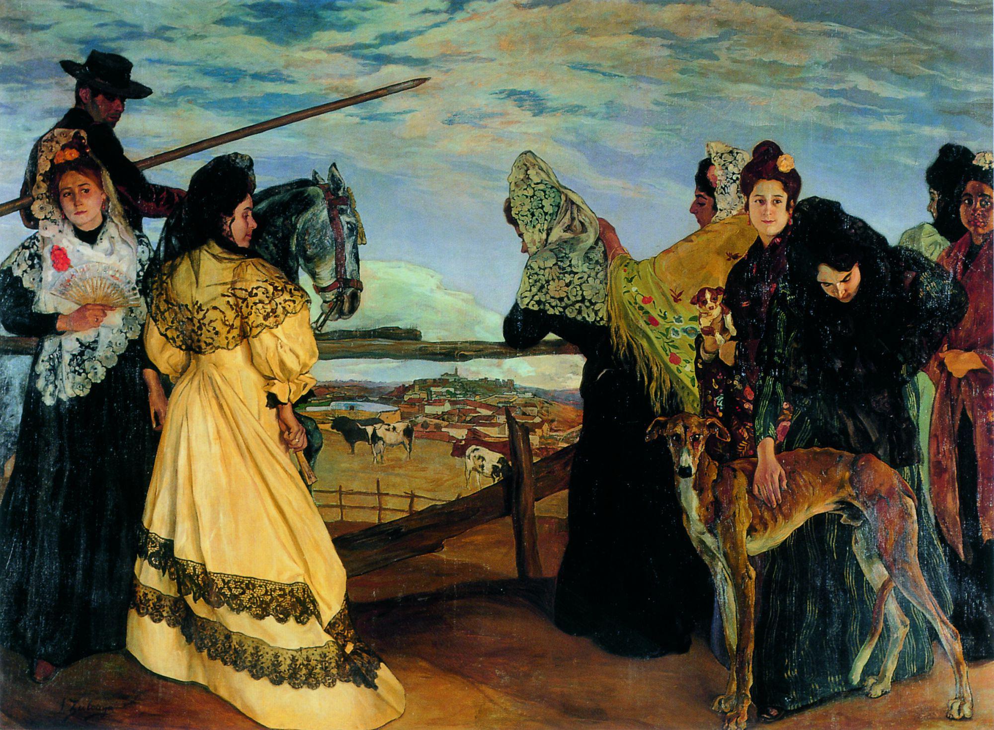 Noventa obras de Zuloaga en el París de la Belle Époque