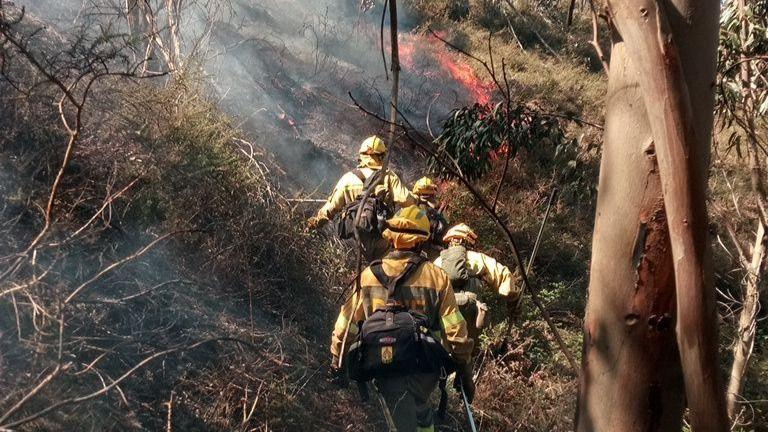 Cantabria continúa con el máximo nivel de alerta contra incendios