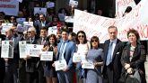 La Abogacía madrileña se moviliza por la Justicia y en defensa de la profesión