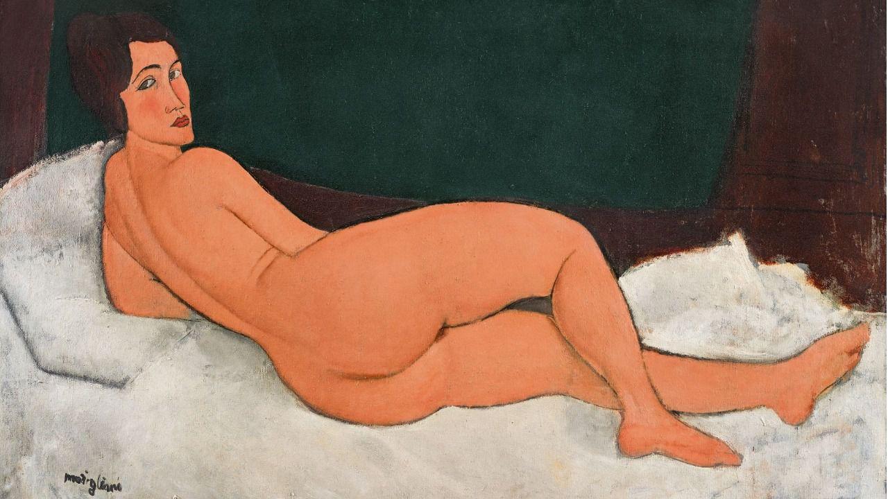 Un desnudo de Modigliani logra la mayor estimación realizada sobre una obra