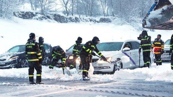 Iberpistas será multada con 30.000 euros tras la nevada en la AP-6