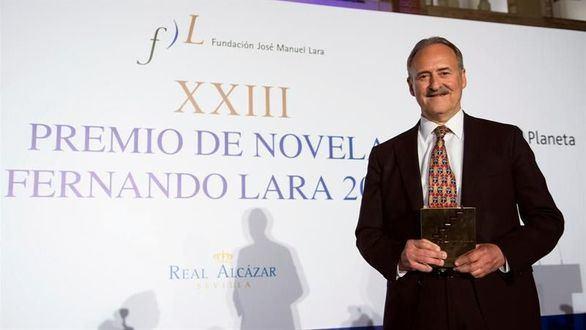 Jorge Molist gana el Fernando Lara con Canción de Sangre y Oro