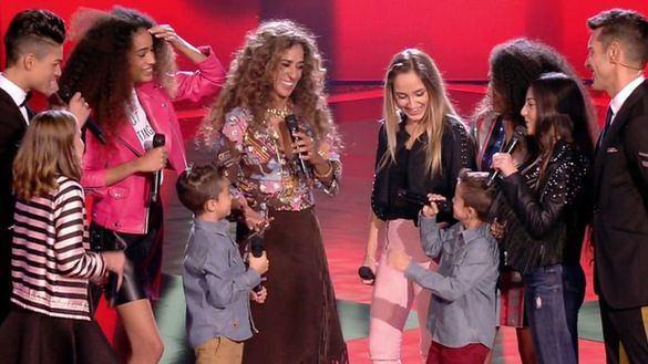 La Voz Kids afina en su semifinal y se distancia de Allí abajo