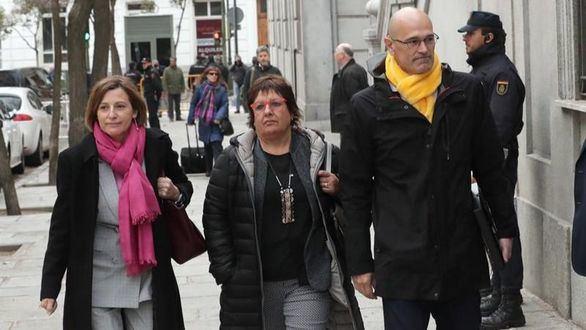 La Fiscalía pide que se mantenga en prisión a los políticos presos