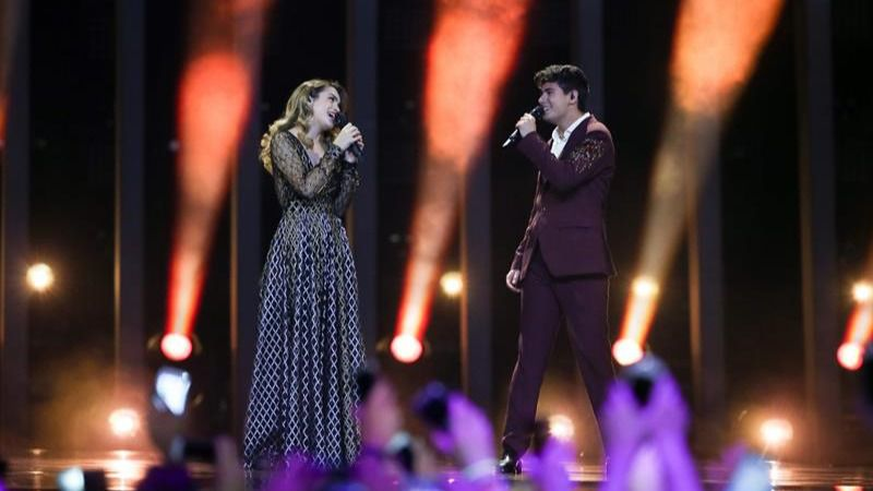 Amaia y Alfred quedan en el puesto 23 del Festival de Eurovisión