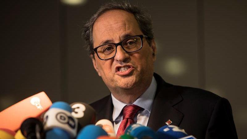 El PSOE desmiente el apoyo de Torra a Sánchez o cualquier socialista