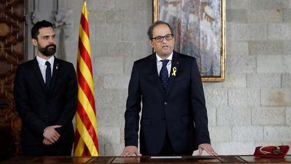 Historiadors de Catalunya: Torra tan sólo es el décimo 'president'