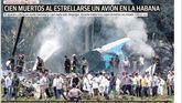 La tragedia aérea en La Habana, destacada en todos los diarios