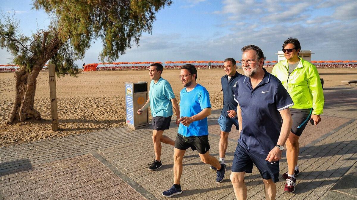 Rajoy llena su Twitter de felicitaciones deportivas