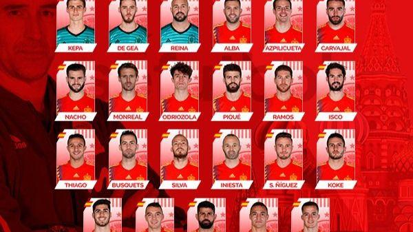 Monreal entra en la lista de la Selección española y se quedan fuera Morata y Vitolo