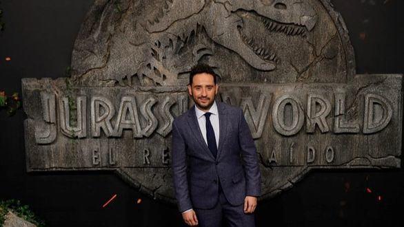 El director español Juan Antonio Bayona, en el preestreno de 'Jurassic World: el reino caído'.