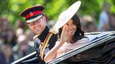 El príncipe Enrique y Meghan Markle reaparecen para homenajear a Isabel II