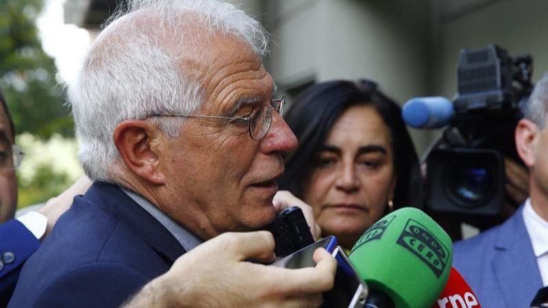 El ministro Borrell estrena cuenta en Twitter