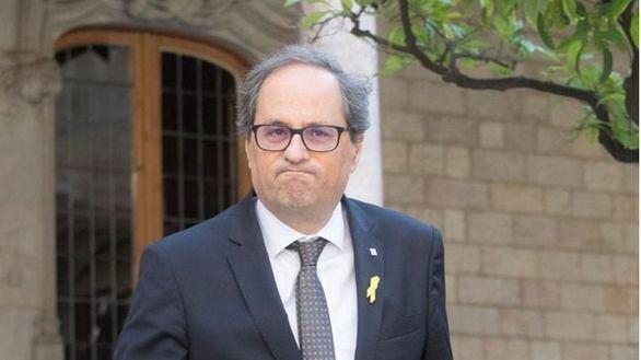 Quim Torra, presidente de la Generalidad