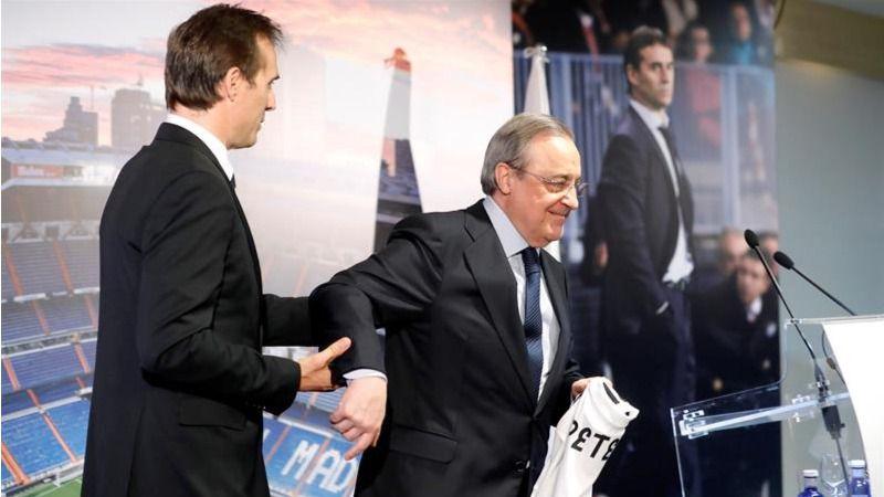 La era Lopetegui en el Real Madrid arranca con ilusión, lágrimas y barro