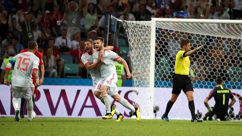 España debuta en el Mundial