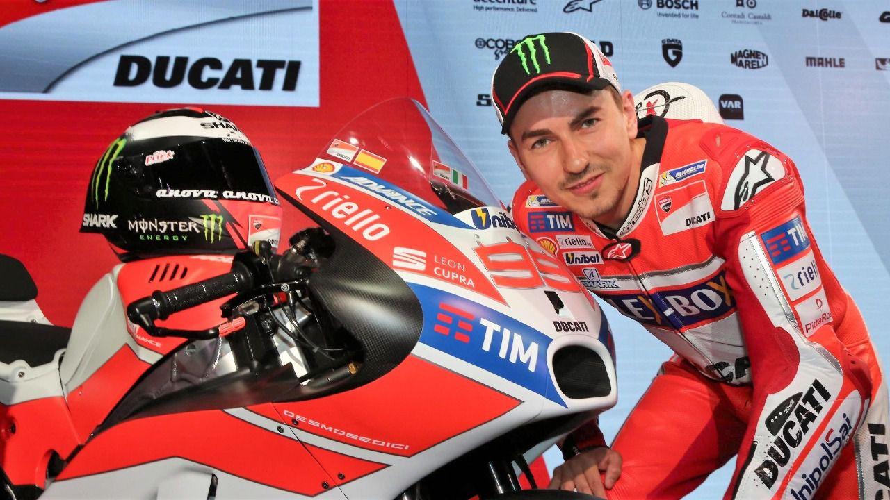 Y ahora no hay quien pare al Jorge Lorenzo de Ducati