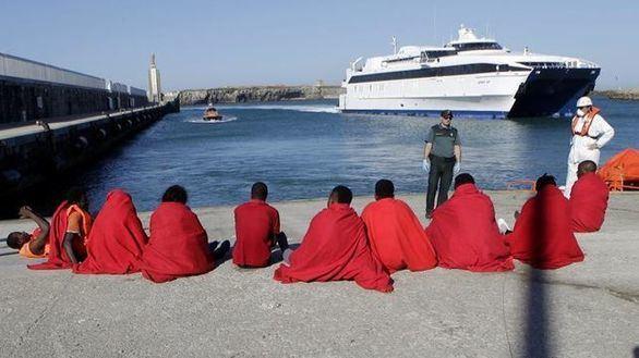 El fin de semana se cierra en Andalucía con 1.290 migrantes rescatados