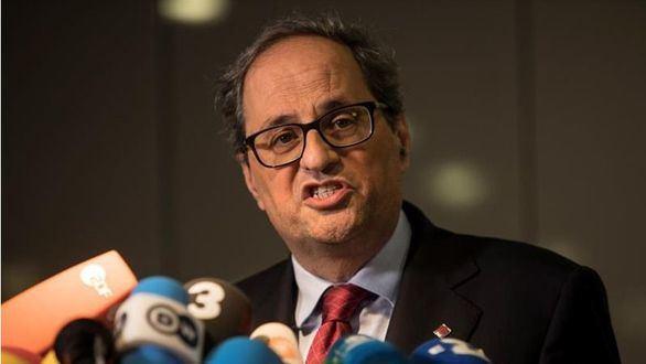 Archivada la querella de Torra contra Rajoy y Santamaría