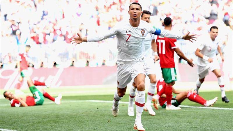 Un tempranero gol permite a Portugal sobrevivir a Marruecos |1-0