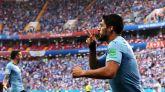 Suárez saca del sopor a Uruguay frente a Arabia Saudí |1-0
