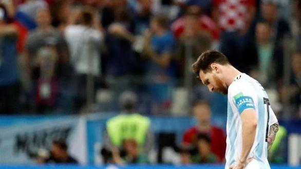 Croacia y Modric desnudan a Messi y Argentina | 0-3